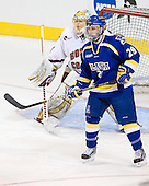 John Muse (BC - 1), Andy Taranto (Alaska-Fairbanks - 29) - The Boston College Eagles defeated the University of Alaska-Fairbanks Nanooks 3-1 (EN) in their NCAA Northeast Regional semi-final on Saturday, March 27, 2010, at the DCU Center in Worcester, Massachusetts.