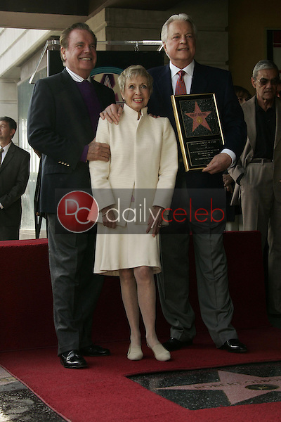 Robert Wagner with Jane Powell and Robert Osborne<br />