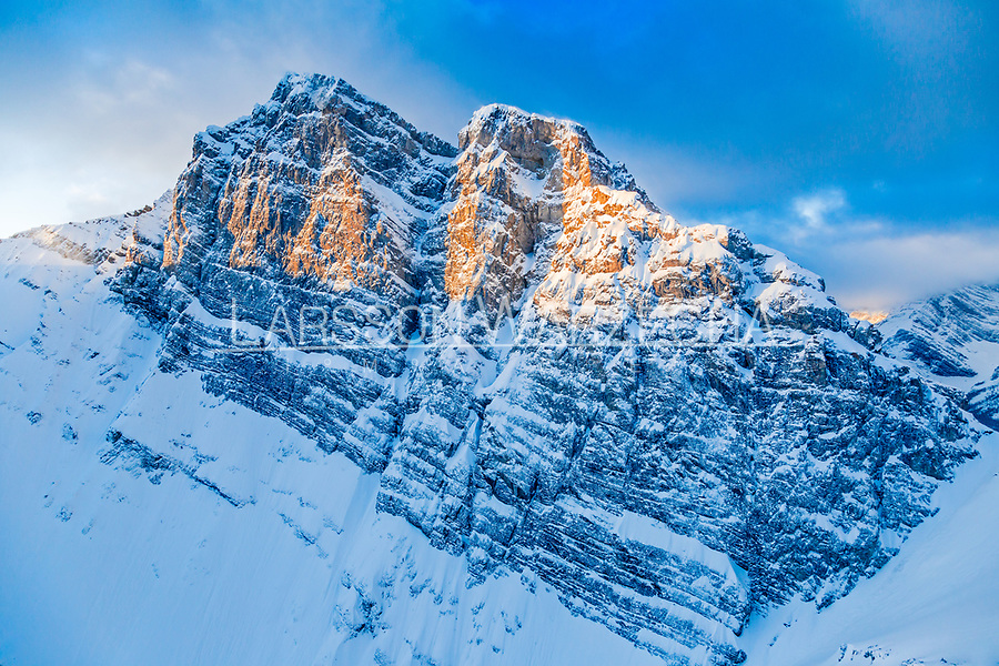 Mount Lawrence Grassi, Bow Valley, Alberta, Canada