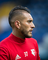 Roberto Pereyra of Watford ahead of the Premier League match between Chelsea and Watford at Stamford Bridge, London, England on 21 October 2017. Photo by Andy Rowland.