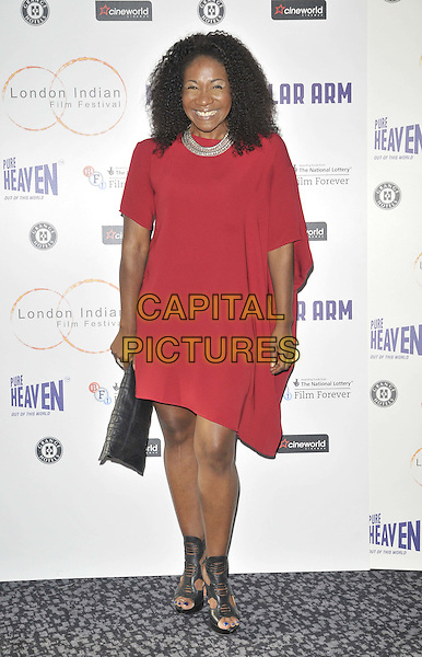 LONDON, ENGLAND - JULY 14: Karen Bryson attends the London Indian Film Festival 'Million Dollar Arm' UK film premiere, Cineworld Shaftesbury Avenue cinema, Coventry St., on Monday July 14, 2014 in London, England, UK. <br /> CAP/CAN<br /> &copy;Can Nguyen/Capital Pictures