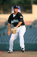 April 13, 2009:  Starting Pitcher Jeff Allison of the Jupiter Hammerheads, Florida State League Class-A affiliate of the Florida Marlins, delivers a pitch during a game at Roger Dean Stadium in Jupiter, FL.  Photo by:  Mike Janes/Four Seam Images