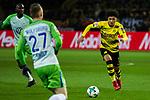 14.01.2018, Signal Iduna Park, Dortmund, GER, 1.FBL, Borussia Dortmund vs VfL Wolfsburg, <br /> <br /> im Bild | picture shows:<br /> Jadon Sancho (Borussia Dortmund #7), <br /> <br /> Foto &copy; nordphoto / Rauch