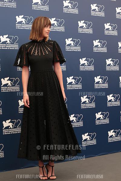 Dakota Johnson at the photocall for Black Mass at the 2015 Venice Film Festival.<br /> September 4, 2015  Venice, Italy<br /> Picture: Kristina Afanasyeva / Featureflash