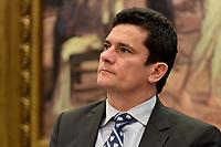 BRASÍLIA, DF, 30.03.2017 – SÉRGIO MORO-DF – O juiz Sérgio Moro durante audiência pública na Câmara dos Deputados que analisa alterações no Código de Processo Penal, na tarde desta quinta-feira, 30. (Foto: Ricardo Botelho/Brazil Photo Press)