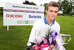 OOSTERHOUT - Nationaal Open 2010 heren op de Oosterhoutse Golf.  Winnaar werd Daan Huizing, 2e Sander van Duijn en 3e Robin Kind. COPYRIGHT KOEN SUYK
