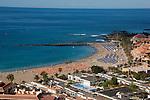 Playa de las Americas beach,Tenerife, Canary Islands, Spain
