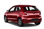 Car pictures of rear three quarter view of a 2019 Ford Ka+ Ultimate 5 Door Hatchback angular rear