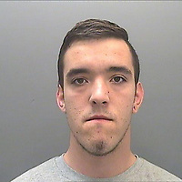Pictured: Police custody picture of Ricky Jeremy<br /> Re: Ricky Jeremy, 23, who raped a woman at a bus station, was jailed Rfor 14 yearby Cardiff Crown Court for the assault on the woman who he targeted in the early hours of September 8.<br /> The victim has no recollection of the incident but it was captured on CCTV, while forensic evidence also implicated Jeremy.<br /> During the incident, he punched her repeatedly to the face while sexually assaulting her. He then raped her.