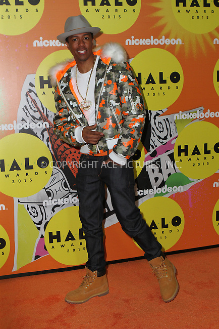 WWW.ACEPIXS.COM<br /> <br /> November 14 2015, New York City<br /> <br />  Nick Cannon attending the 2015 Halo Awards at Pier 36 on November 14, 2015 in New York City<br /> <br /> By Line: Nancy Rivera/ACE Pictures<br /> <br /> <br /> ACE Pictures, Inc.<br /> tel: 646 769 0430<br /> Email: info@acepixs.com<br /> www.acepixs.com