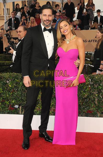 30 January 2016 - Los Angeles, California - Joe Manganiello, Sofia Vergara. 22nd Annual Screen Actors Guild Awards held at The Shrine Auditorium.      <br /> CAP/ADM/BP<br /> &copy;BP/ADM/Capital Pictures