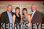 Party night<br /> -------------<br /> enjoying the Araglen-Desmonds annual social in the Riverisland hotel,Castleisland were L-R John&amp;Marie Kerrist with Theresa&amp;LiamDooby.