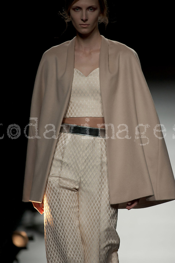 Duyos at Mercedes-Benz Fashion Week Madrid 2013