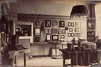BNPS.co.uk (01202 558833)<br /> Pic: Bosleys/BNPS<br /> <br /> This room at Gutersloh even contained a puppet theatre....<br /> <br /> The stark contrast between the relative life of luxury enjoyed by captured Tommies of the First World War to the hell of the trenches they left behind can be revealed in a remarkable archive.<br /> <br /> It seems that being taken prisoner was a blessing in disguise judging by the gallery of photos that show the British officers leading a very civilised life at a German PoW camp.<br /> <br /> There was a gentlemen's agreement in place which would see the detainees allowed outside the camp during the day as long as they returned by the evening.<br /> <br /> The archive of Lieutenant Charles Mayo, which includes three of his First World War medals, is being sold by Bosley's auctioneers of Marlow, Bucks on Wednesday.