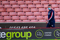 27th June 2020; Bet365 Stadium, Stoke, Staffordshire, England; English Championship Football, Stoke City versus Middlesbrough; Stoke City Manager Michael O'Neill walks from the pitch