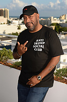 MIAMI BEACH, FL - OCTOBER 05: Bun B poses for a portrait during the Empire Records DJ party held at Skydeck on October 5, 2018 in Miami Beach, Florida. <br /> CAP/MPI04<br /> &copy;MPI04/Capital Pictures
