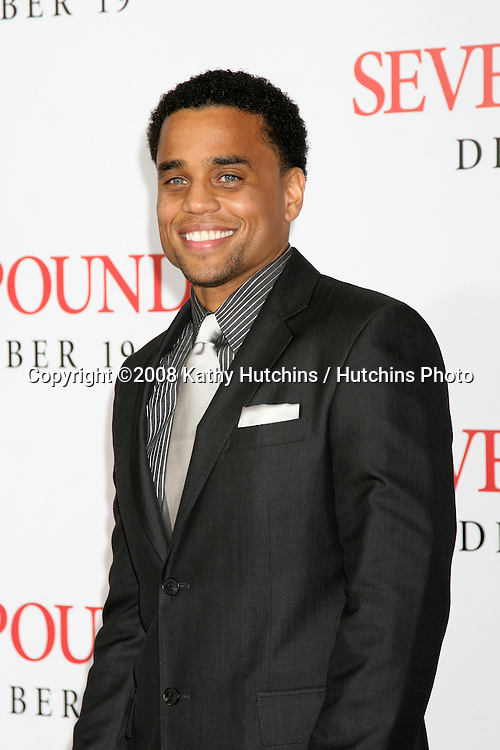 "Michael Ealy arriving at the Premiere of ""Seven Pounds"" at the Mann's Village Theater in Westwood, CA on December 15, 2008.©2008 Kathy Hutchins / Hutchins Photo..                ."