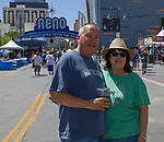 Brion and Maggie during the Great Eldorado BBQ, Brews and Blues Festival in Reno, Nevada on Saturday, June 16, 2018.