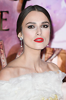 "Keira Knightley<br /> arriving for the European premiere of ""The Nutcracker and the Four Realms"" at the Vue Westfield, White City, London<br /> <br /> ©Ash Knotek  D3458  01/11/2018"
