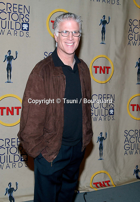 Ted Danson was annoncing the 2002 nominated for the 8th annual SAG Awards at the Screen Room Theatre at the Pacific Design Center in Los Angeles. January 29, 2002.           -            DansonTed06.jpg