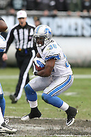 December 18, 2011 Oakland, CA: Detroit Lions running back Kevin Smith #30 during an NFL game played between the Oakland Raiders and the Detroit Lions at O.co Coliseum. The Lions defeated the Raiders 28-27.