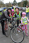 Brendan, Rhona, Molly and Annemarie Keenan at the Operation Transformation 10km cycle from Ardee Parish Centre.