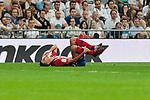 Atletico de Madrid's Rodrigo Hernandez during La Liga match between Real Madrid and Atletico de Madrid at Santiago Bernabeu Stadium in Madrid, Spain. September 29, 2018. (ALTERPHOTOS/A. Perez Meca)
