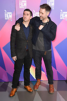 Paul Popplewell &amp; Paddy Considine at the London Film Festival 2017 screening of &quot;Journeyman&quot; at Picturehouse Central, London, UK. <br /> 12 October  2017<br /> Picture: Steve Vas/Featureflash/SilverHub 0208 004 5359 sales@silverhubmedia.com