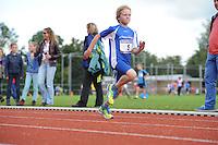 ATLETIEK: HEERENVEEN: 19-09-2015, Athletic Champs AV Heerenveen, Jitse Tijtsma (#5 | 11 jaar), ©foto Martin de Jong