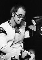Elton John performing in 1973. Credit: Ian Dickson/MediaPunch