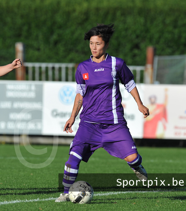 Beerschot Dames : Riana Nainggolan.foto DAVID CATRY / Vrouwenteam.be