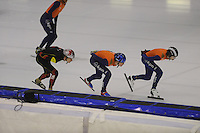 SCHAATSEN: HEERENVEEN: 24-10-2014, IJsstadion Thialf, Topsporttraining, ©foto Martin de Jong