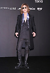 YOSHIKI, Mar 16, 2015 : XJapan attends opening party of the Mercedes-Benz Fashion Week Tokyo 2015-16 A/W in Tokyo Japan 16 Mar 2015