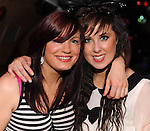 Karen Healy and AnneMarie Brosnan  at the 'Take Me Out'  theme night at the Valentines  Ultimate Singles Party in The Killarney Grand Hotel on Monday night.  Picture: Eamonn Keogh (MacMonagle, Killarney)