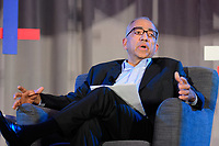 Philadelphia, PA - Saturday January 20, 2018: Carlos Cordeiro during the U.S. Soccer Federation Presidential Election Candidates Forum hosted by US Youth Soccer at the Philadelphia Marriott Downtown Grand Ballroom.
