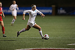 SALEM, VA - DECEMBER 3:Katie Shults (20) moves the ball down the field during theDivision III Women's Soccer Championship held at Kerr Stadium on December 3, 2016 in Salem, Virginia. Washington St Louis defeated Messiah 5-4 in PKs for the national title. (Photo by Kelsey Grant/NCAA Photos)