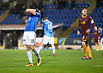 St Johnstone v Motherwell…15.12.18…   McDiarmid Park    SPFL<br />