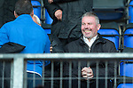 St Johnstone Academy v Manchester United Academy....17.04.15   <br /> SFA Performance Director Brian McClair, former Head of Youth Development at Manchester United watches the game<br /> Picture by Graeme Hart.<br /> Copyright Perthshire Picture Agency<br /> Tel: 01738 623350  Mobile: 07990 594431