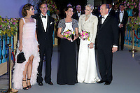 "The Princely family Of Monaco attends the "" Bal de la Rose du Rocher "" - Monaco"
