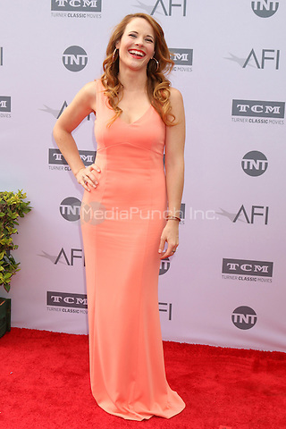 LOS ANGELES, CA - JUNE 9: Katie Leclerc at the American Film Institute 44th Life Achievement Award Gala Tribute to John Williams at the Dolby Theater on June 9, 2016 in Los Angeles, California. Credit: David Edwards/MediaPunch