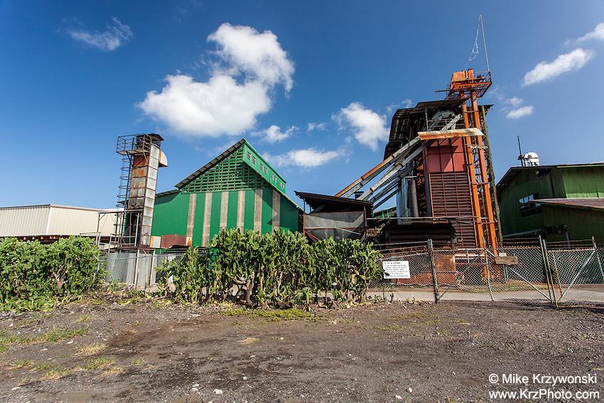 Old coffee mill on Napoopoo Rd., Big Island, Hawaii
