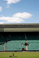 Centre Court at Wimbledon, The All England Lawn Tennis Club (AELTC), London...