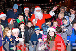 Santa got a huge welcome from the children of Killorglin when he arrived on Sunday evening