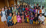 24 June, 2018, Kuala Lumpur, Malaysia : Participants at the Girls Not Brides Global Meeting 2018 pose together after the first day of meetings at the Kuala Lumpur Convention Centre. Picture by Graham Crouch/Girls Not Brides