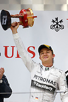 SHANGHAI, CHINA, 20.04.2014 - FORMULA 1 - GP DA CHINA -  O piloto da Mercedes, o alemao Nico Rosberg no GP da China de Fórmula 1, realizada no circuito internacional de Xangai, neste domingo, 20. (Foto: Pixathlon / Brazil Photo Press).