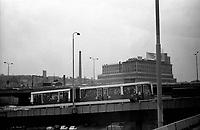 SERBIA, Belgrade, 03/2003..In the suburb of Belgrade. .SERBIE, Belgrade, 03/2003..Photo prise depuis le bus qui relie Belgrade à Sarajevo. Dans la banlieue de Belgrade. © Bruno Cogez / Est&Ost Photography
