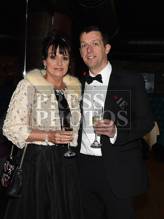 Shay and Maria Carrie at the ABACAS Valentine Ball at the Westcourt Hotel. Photo:Colin Bell/pressphotos.ie