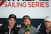 2017 Extreme Sailing Act 4 Barcelona Press Conference Jul 20th