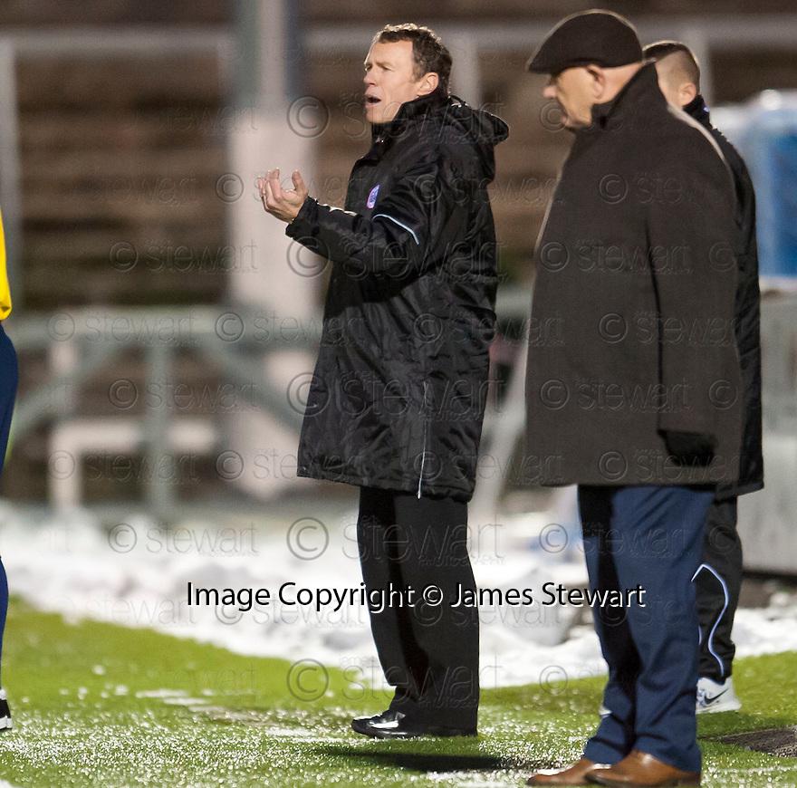 Stirling Albion Manager Stuart McLaren.