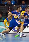 23rd IHF Men's World Championship; FRA-BRA.Jerome Fernandez (FRA).